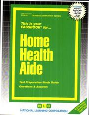 Cover of: Home Health Aide |