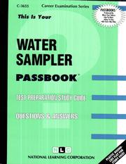 Cover of: Water Sampler | National Learning Corporation