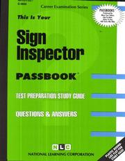 Cover of: Signal Inspector | National Learning Corporation