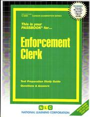 Cover of: Enforcement Clerk | National Learning Corporation