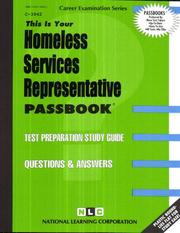 Cover of: Homeless Services Representative | National Learning Corporation