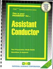 Cover of: Assistant Conductor | National Learning Corporation