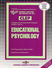 CLEP Educational Psychology (College-Level Examination Program)
