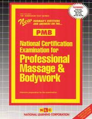 National Certification Examination for Professional Massage & Bodywork (Admission Test Series)