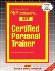 Cover of: Certified Personal Trainer |