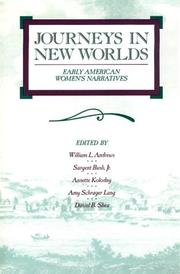 Cover of: Journeys in new worlds