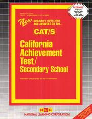 California Achievement Test/Secondary School CAT/S