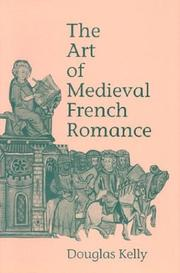 Cover of: The art of medieval French romance