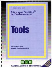 Cover of: Tools | National Learning Corporation