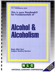 Cover of: Alcohol & Alcoholism | National Learning Corporation