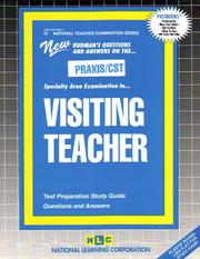 Cover of: PRAXIS/CST Visiting Teacher | Jack Rudman