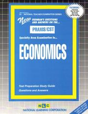 Cover of: PRAXIS/CST Economics |