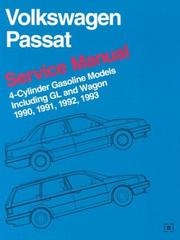 Cover of: Volkswagen Passat Service Manual 1990, 1991, 1992, 1993