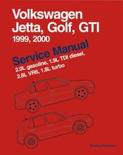 Cover of: Volkswagen Jetta, Golf, GTI Service Manual