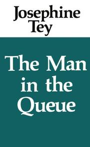 Cover of: The Man in the Queue (Inspector Alan Grant #1)