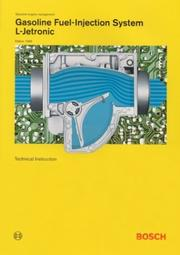 Cover of: Gasoline Fuel-Injection System L-Jetronic