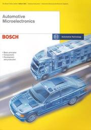 Cover of: Automotive Microelectronics