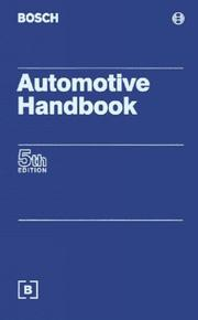 Cover of: Automotive Handbook (Bosch)