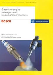 Cover of: Gasoline-Engine Management