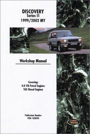 Cover of: Land Rover Discovery Workshop Manual: 1999-2002 (Land Rover)
