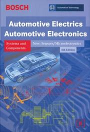 Cover of: Automotive Electrics Automotive Electronics