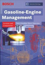 Cover of: Bosch Gasoline-engine Management (Bosch)