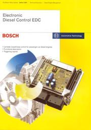 Cover of: Electronic Diesel Control EDC