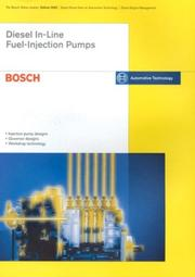 Cover of: Diesel In-line Fuel-injection Pumps