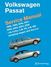 Cover of: Volkswagen Passat Service Manual