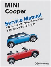 Cover of: Mini Cooper Service Manual