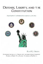 Cover of: Defense, Liberty, and the Constitution | Ron Sievert