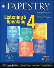 Cover of: Listening & speaking 4