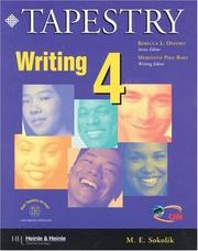 Cover of: Tapestry writing 4