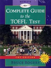 Cover of: Heinle & Heinle's complete guide to the TOEFL test, CBT ed