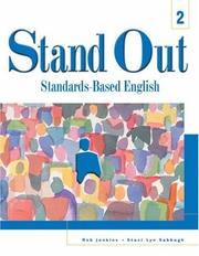 Cover of: Stand out 2 | Jenkins, Rob.