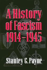 Cover of: A history of fascism, 1914-1945