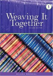 Cover of: Weaving It Together