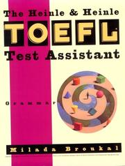 Cover of: The Heinle & Heinle TOEFL test assistant