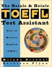 Cover of: The Heinle & Heinle TOEFL assistant