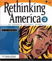 Cover of: Rethinking America 3 : an advanced cultural reader