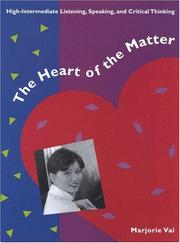 Cover of: The Heart of the Matter | Marjorie Vai