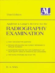 Appleton & Lange's review for the radiography examination by D. A. Saia