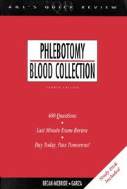 Cover of: Phlebotomy/blood collection