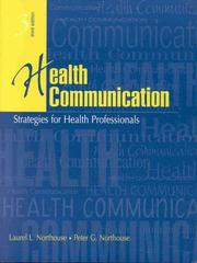 Cover of: Health Communication | Peter G. Northouse