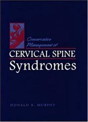 Cover of: Conservative management of cervical spine syndromes