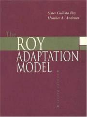 The Roy adaptation model by Callista Roy