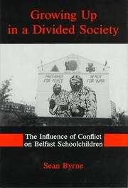 Cover of: Growing up in a divided society