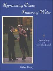 Cover of: Representing Diana, Princess of Wales | Colleen Denney
