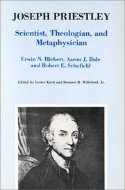 Cover of: Joseph Priestley, scientist, theologian, and metaphysician | Joseph Priestley Symposium (1974 Wilkes-Barre, Pa.)