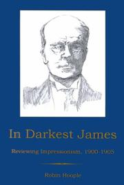 Cover of: In darkest James